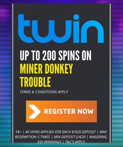 MINER DONKEY TROUBLE SPINS