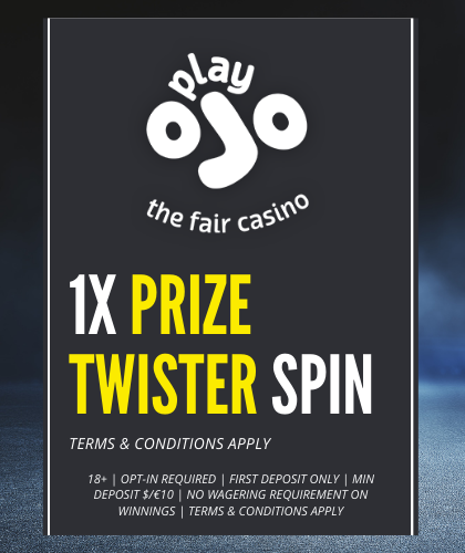 PRIZE TWISTER SPIN AT PLAYOJO